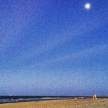 Beach Night  by NonoZitro76
