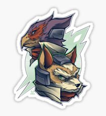 Lylat Heroes Sticker