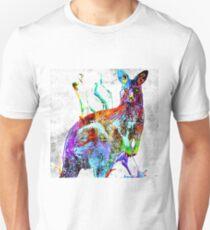 Kangaroo Grunge Unisex T-Shirt