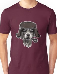 Dog with glasses Unisex T-Shirt