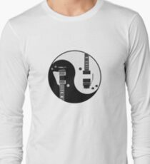 Yin Yang - Guitars Long Sleeve T-Shirt