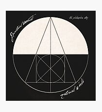 The Philosophers Stone (Alchemical Symbolism) Photographic Print