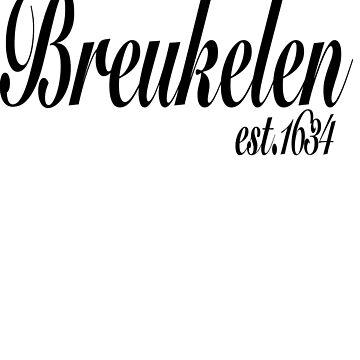Ye Olde Brooklyn Tee by alenky