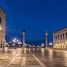 View from St Marks Square Venice at Dawn by Vicki Moritz