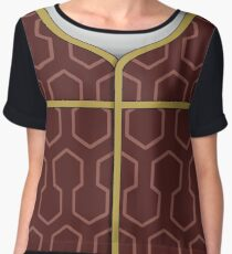 Fiona Graphic Tee, Variant A Chiffon Top