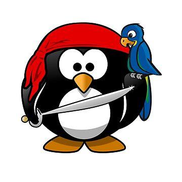Penguin and Bird !  by Thibo85