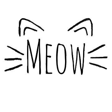 Meow by ArtByKE