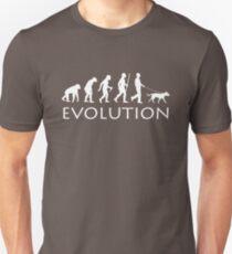 Evolution Dog Walker T-Shirt