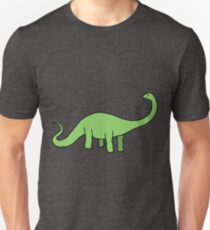 Happy Diplodocus - dinosaur design by Cecca Designs T-Shirt