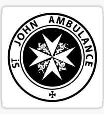St. John Ambulance - Doctor Who Sticker
