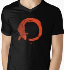 Enso the beauty of imperfection Men's V-Neck T-Shirt