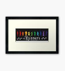 The Runners Framed Print