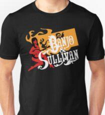 Banjo & Sullivan gold, white, red Unisex T-Shirt
