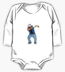 Ash Ketchum Dab One Piece - Long Sleeve