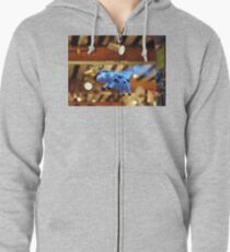 When the cows will fly Zipped Hoodie