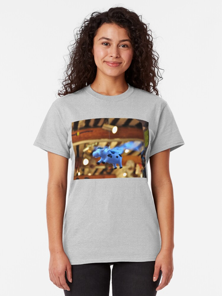 Alternate view of When the cows will fly Classic T-Shirt