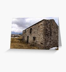 The Barn Swaledale Greeting Card