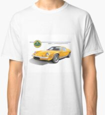 Lotus Europa Vintage British Classic Car Classic T-Shirt