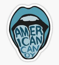 The Maine American Candy Lips Sticker