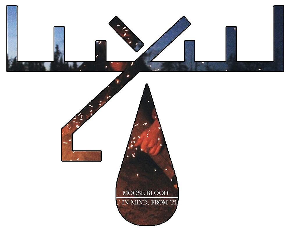 Moose Blood album art logo by tiffanyisweird
