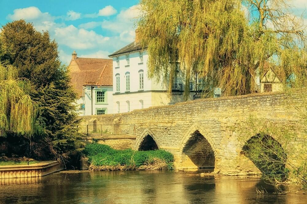 Bidford on Avon Riverside 2 by StephenRphoto
