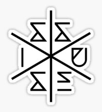 Issues Band Logo Sticker