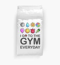 Ich gehe jeden Tag ins Fitnessstudio Bettbezug