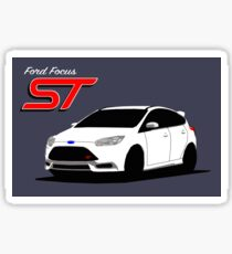 Ford Focus ST graphic Sticker