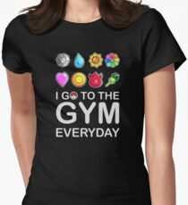 I go to the GYM everyday Women's Fitted T-Shirt