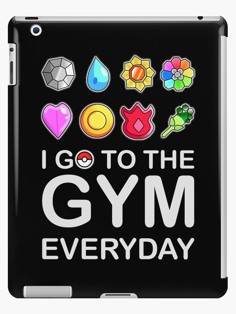 I go to the GYM everyday by MKDeltaDesigns