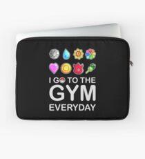 I go to the GYM everyday Laptop Sleeve