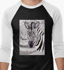 Zebra for Hope Men's Baseball ¾ T-Shirt