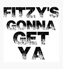 Fitzy's gonna get ya ( Zack Fitzgerald Sheffield Steelers ) Photographic Print
