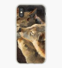 WolfKiss iPhone Case