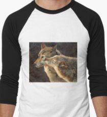WolfKiss Men's Baseball ¾ T-Shirt