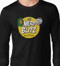 """The Nerd Blitz w/ Doom And Fitz"" by @ShariSayz Long Sleeve T-Shirt"