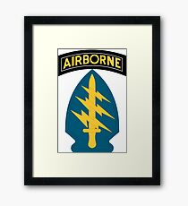 Special Forces (United States Army) Framed Print