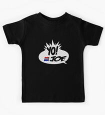 Yo Joe Raps! Kids Tee