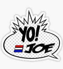 Yo Joe Raps! Sticker