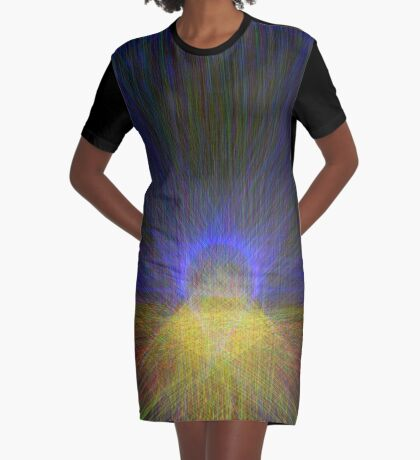 Morning Graphic T-Shirt Dress