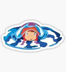 Ponyo Logo Sticker