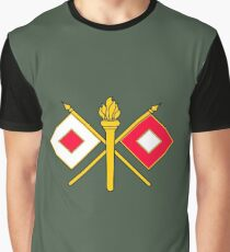 Signal Corps - Branch Insignia (United States Army) Graphic T-Shirt