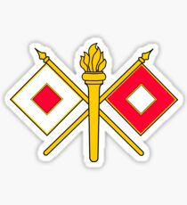 Signal Corps - Branch Insignia (United States Army) Sticker