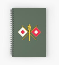 Signal Corps - Branch Insignia (United States Army) Spiral Notebook