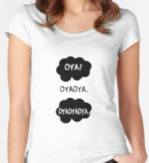 Oya oya oya - Haikyuu!! Women's Fitted Scoop T-Shirt