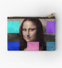Mona Lisa Modernized Studio Pouch