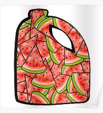 Watermelon Bleach Poster