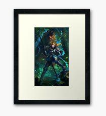 GoldiLox Framed Print