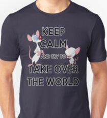 Keep Calm and Try to Take Over the World Unisex T-Shirt