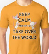 Keep Calm and Try to Take Over the World T-Shirt